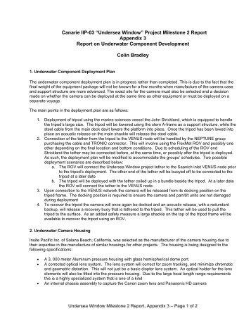 Milestone 2 Report, Appendix 3