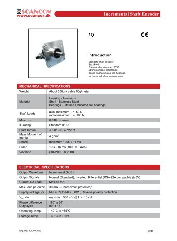 leine & linde encoders