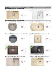 BLANCO specialus asortimentas 2012,pdf - Vandeniai