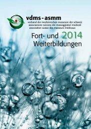 Broschüre 2014 herunterladen - vdms