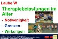 OA PD Dr. med. sc. ( habil. ) Wolfgang Laube