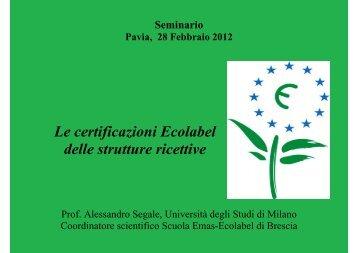 dott. Segale - CCIAA di Pavia