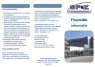Financiële informatie - Sfz.be