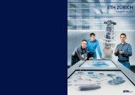 Jahresbericht 2010 - ETH - Finanzen und Controlling - ETH Zürich