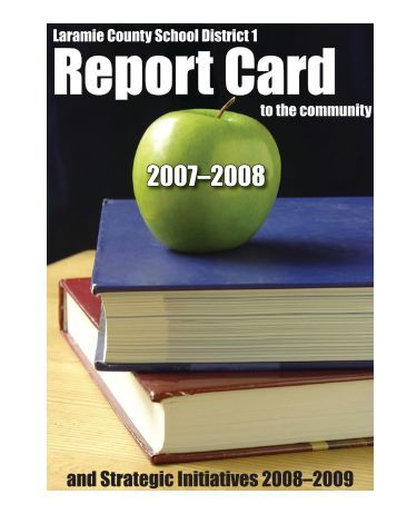 and Strategic Initiatives 2008–2009 - Laramie County School District ...