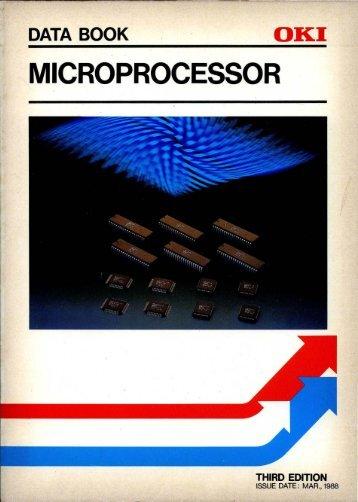 MICROPROCESSOR - Al Kossow's Bitsavers - Trailing-Edge