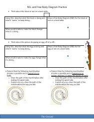 free-body diagram (FBD) worksheet: