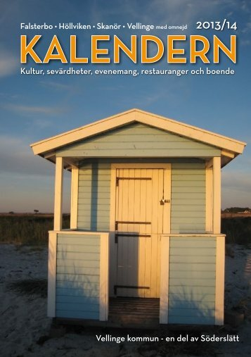 Ladda ner Kalendern 2013 (PDF-dokument, 8,3 ... - Vellinge kommun