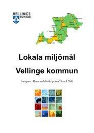 Miljömål för Vellinge kommun