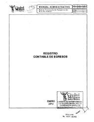 Registro Contable de Egresos - RTP