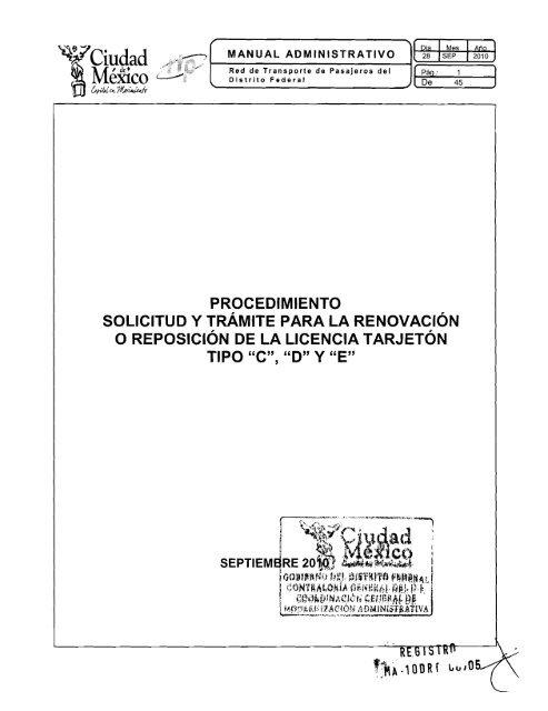 Licencia Tarjetã N Rtp