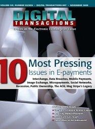 Most Pressing - Digital Transactions