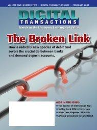 The Broken Link - Digital Transactions