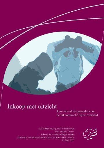 Inkoop met Uitzicht - Passievooronderwijs.nl