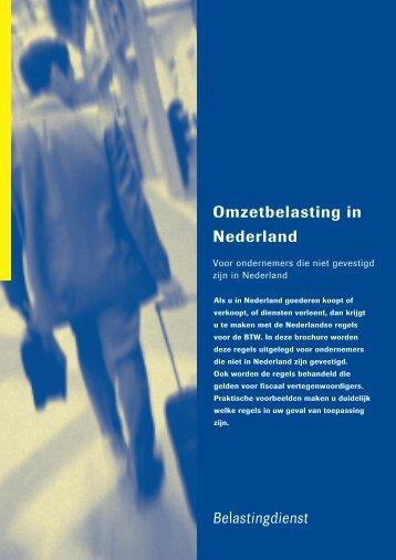Omzetbelasting in Nederland - Passievooronderwijs.nl
