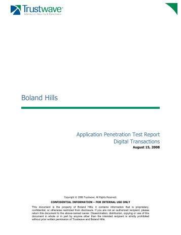 Trustwave Application Penetration Test Digitaltransactions-080815