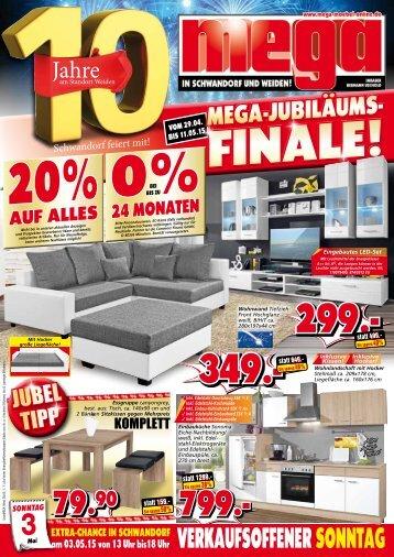 MEGA-Jubiläums-Finale: 20% auf Alles!