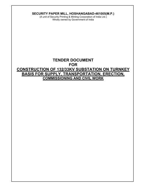 tender for fabrication 247