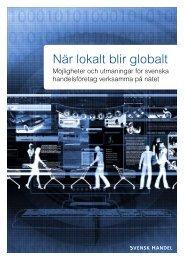 E-handelsrapport 2009 - Svensk Handel