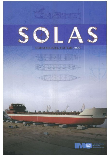 Solas Consolidated Edition 2009 pdf
