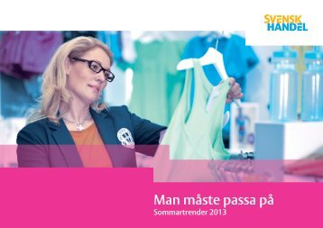 Sommartrender 2013 - Svensk Handel