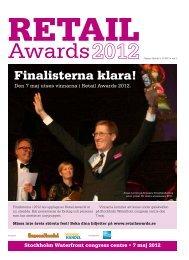 Finalistbilaga Retail Awards.pdf - Svensk Handel