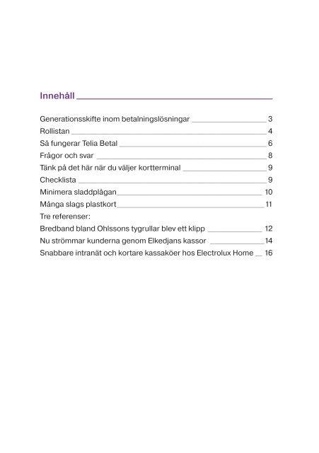 Telia Betal - Svensk Handel