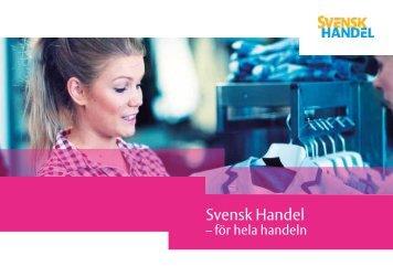 Folder om SH.pdf - Svensk Handel