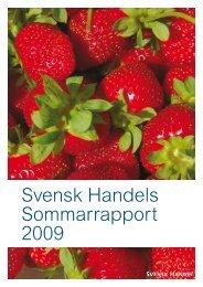 Sommarrapport - Svensk Handel