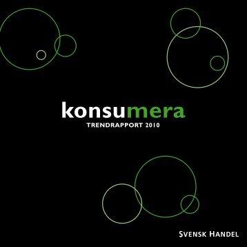 konsumera - Svensk Handel