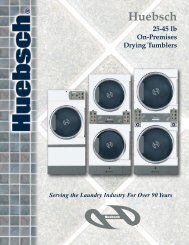 more info on the Huebsch GO220 commercial dryer