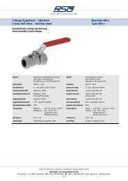 460-1.pdf (650,2 kB) - RSG Regel- und Steuergeräte GmbH