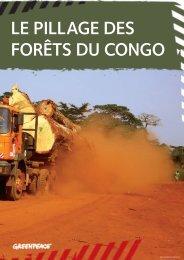 Le pillage des forêts du Congo : rapport de ... - mediacongo.net