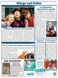 Wohin heute? Ihr Wochenkalender - Urlaubs-Kurier - Seite 6