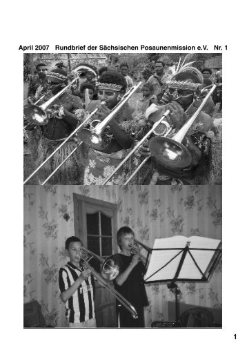 1 Juli - Sächsische Posaunenmission eV