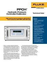 PPCH™ Hydraulic Pressure Controller/Calibrator