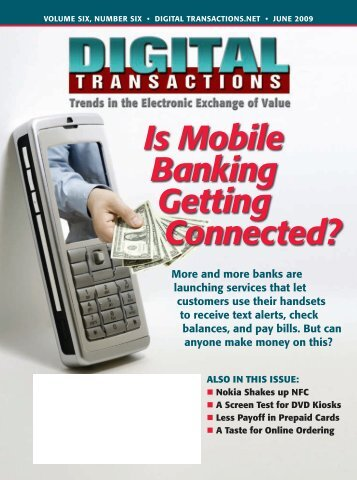 Is Mobile Banking Getting Connected? - Digital Transactions