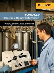 Electronic Deadweight Tester - Chell Instruments Limited