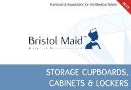 STORAGE CUPBOARDS, CABINETS & LOCKERS - Bristol Maid