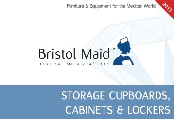 STORAGE CUPBOARDS, CABINETS & LOCKERS - Bristol Maid
