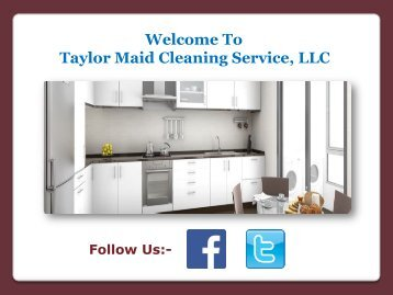 Avail Effective Cleaning Services from a Reputable Cleaning Company