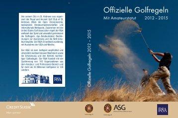 Offizielle Golfregeln