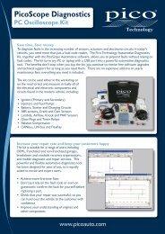 PC Oscilloscope Kit - OEMTools.com