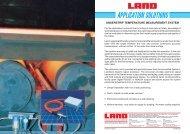 Understrip temperature measurement system - Dia-Test