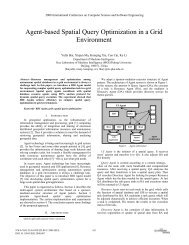 Agent-Based Spatial Query Optimization in a Grid Environment