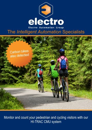Cycle Counter Brochure - Electro Automation Group Limited