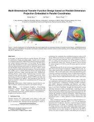 Multi-Dimensional Transfer Function Design based on Flexible ...