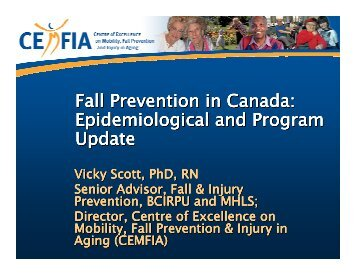 overview of the fall prevention program Fall prevention involves managing a patient's underlying fall risk factors and optimizing the hospital's physical design and environment this toolkit focuses on overcoming the challenges associated with developing, implementing, and sustaining a fall prevention program.