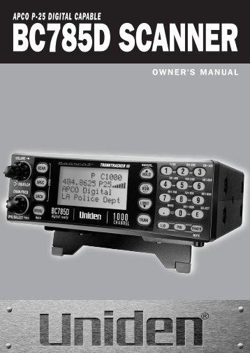 Manual - at Uniden