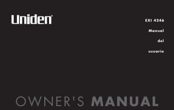 Manual del usuarío